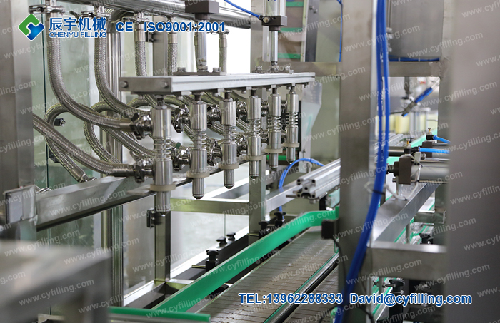 Small bottled mineral water production line-2