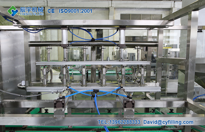 Small bottled mineral water production line-3