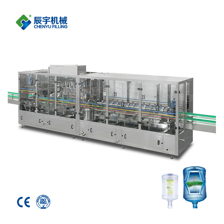 Automatic big bottle water production line