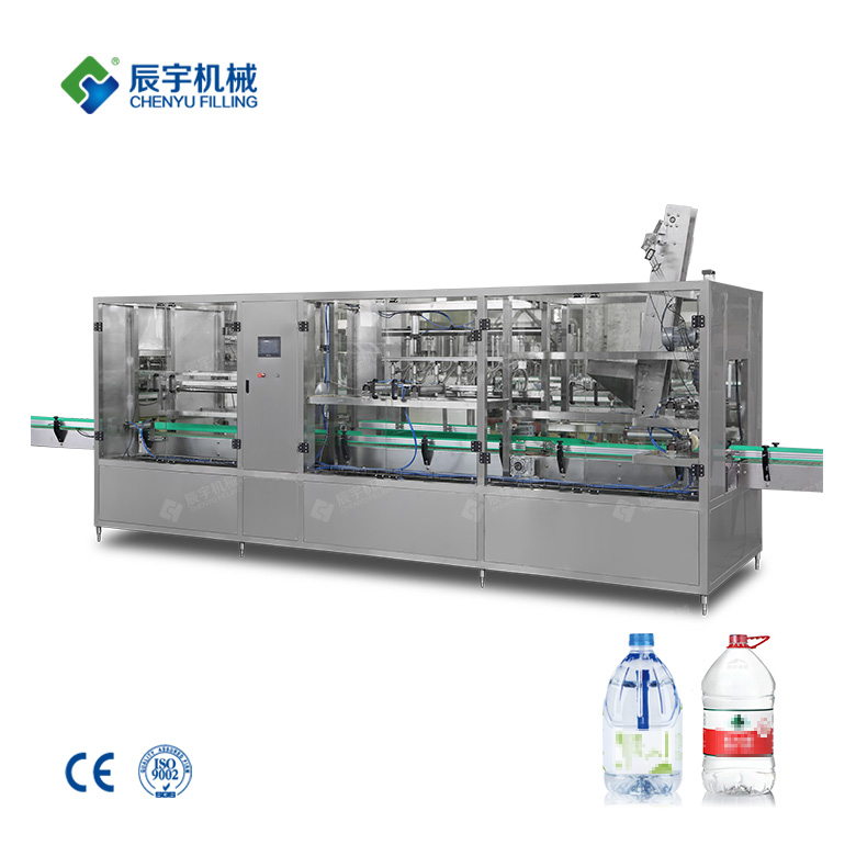 Big Bottled Mineral Water Production Line