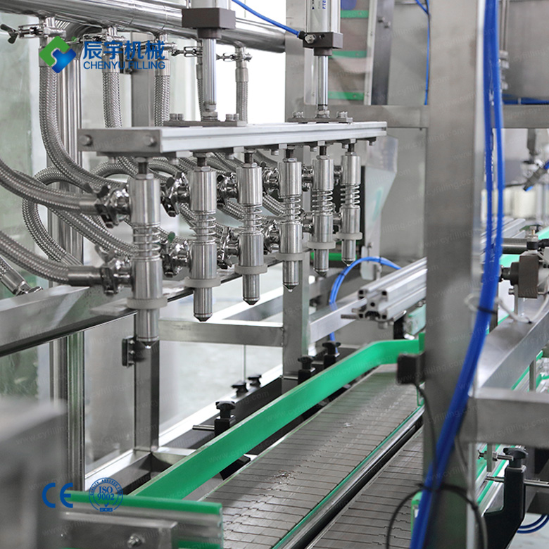 small bottled mineral water-production line