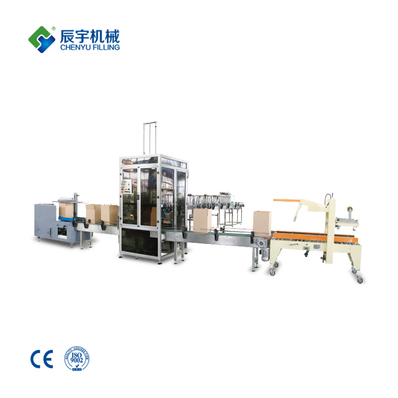 Carton Opening Packing Sealing System