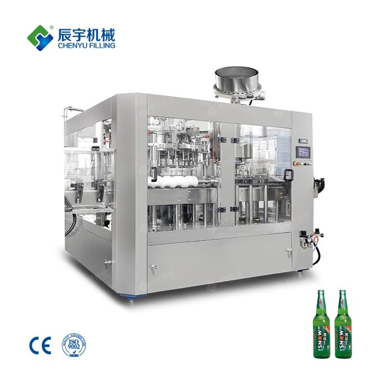 3 In 1 Beer Bottling Machine