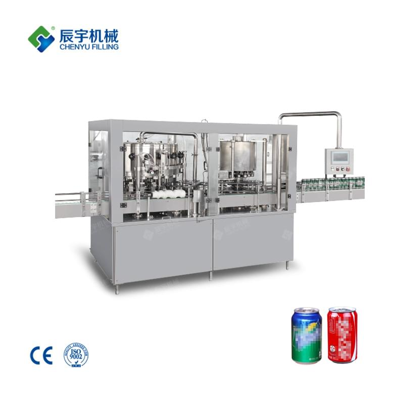 GDF18-6 Cans Beverage Filling Machine