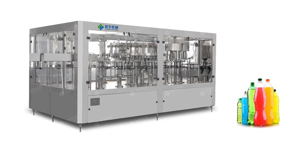 DCGF32-32-10 Carbon Dioxide Beverage Filler-water filling machine|water bottling machine|bottle filling machine|Suzhou CHENYU Packing Machinery Co., Ltd.