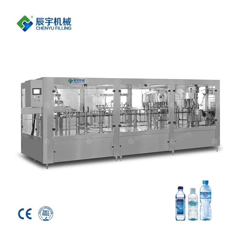 CGFB24-24-24-8 Four in One Mineral Water Filling Machine