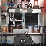 Mineral water sleeve labeling machine