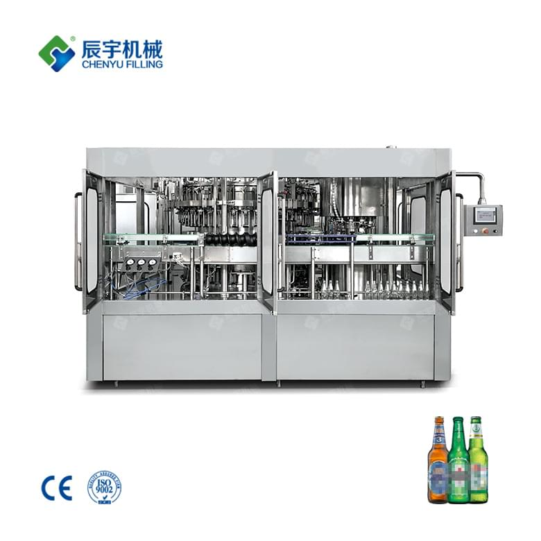 BGF32-8 Beer Filling Production Line