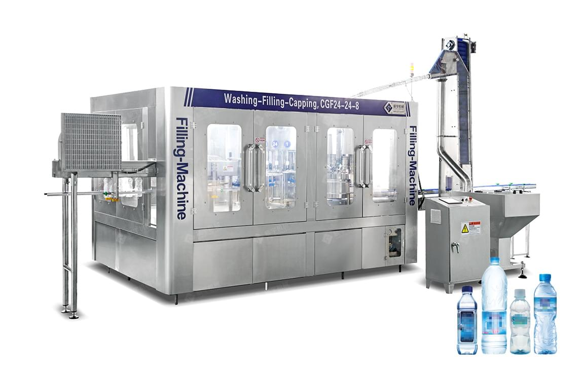 CGF24-24-8 Drinking Water Filling Equipment-water filling machine|water bottling machine|bottle filling machine|Suzhou CHENYU Packing Machinery Co., Ltd.