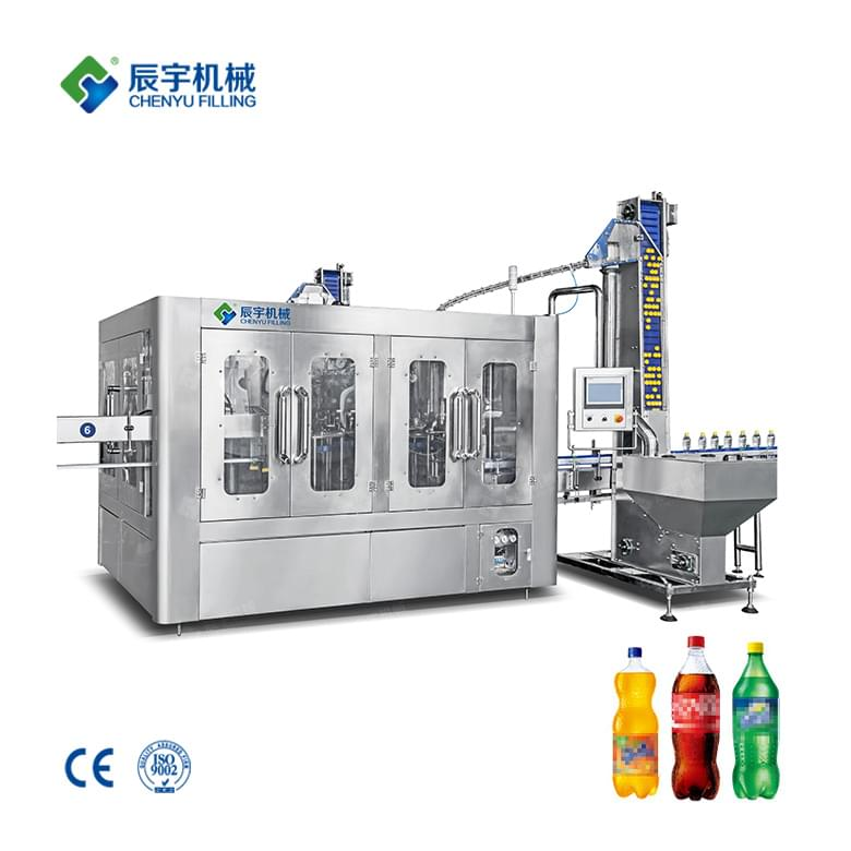 DCGF24-24-8 Automatic Soft Drink Filling Equipment