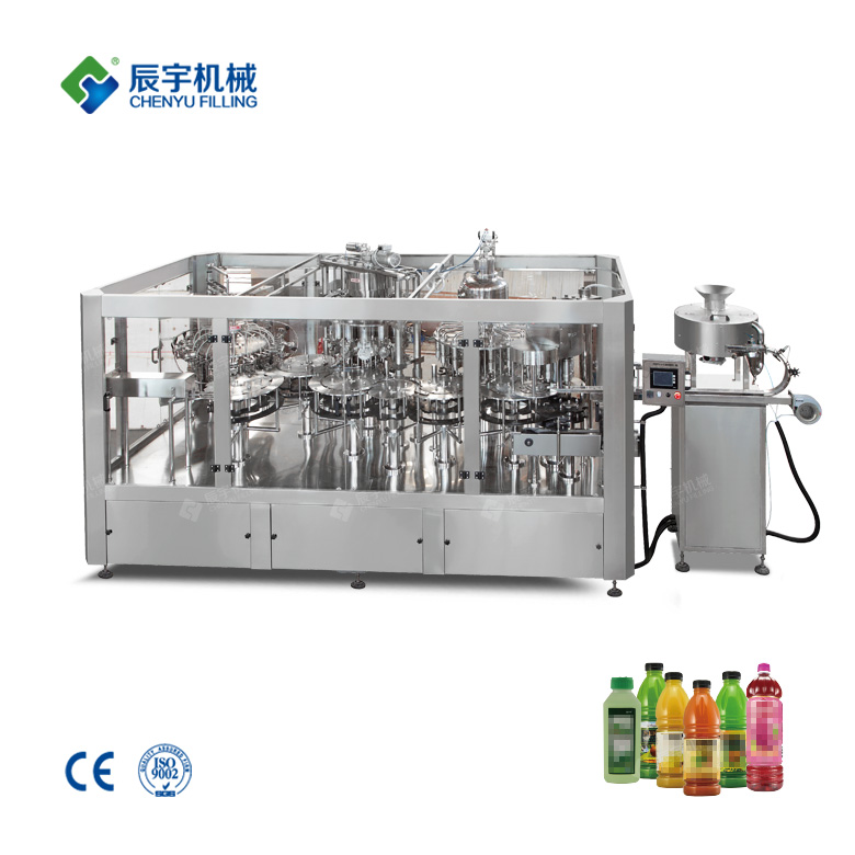 Fruit Juice Filling Equipment 4-In-1
