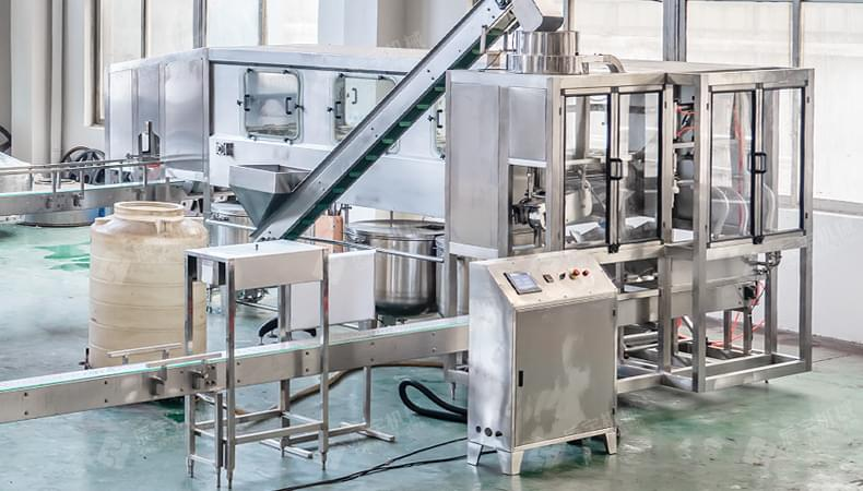 QGF-450 5 Gallon Barreled Water Production Line-water filling machine|water bottling machine|bottle filling machine|Suzhou CHENYU Packing Machinery Co., Ltd.