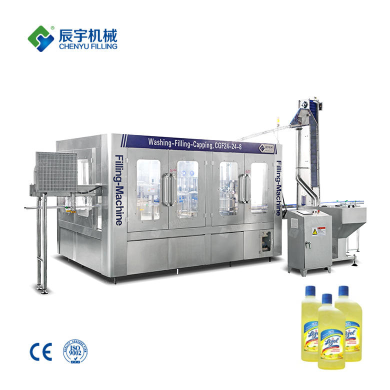 Disinfectant Liquid Filling Production Line