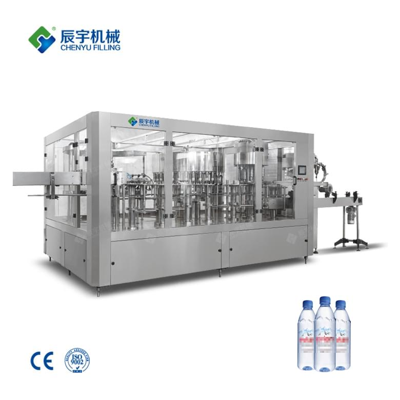 CGF32-32-10 Small Scale Water Bottling Equipment