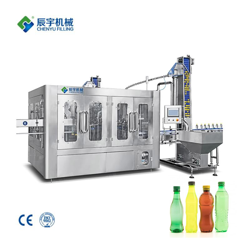 Plastic Bottle Soda Filling Machine