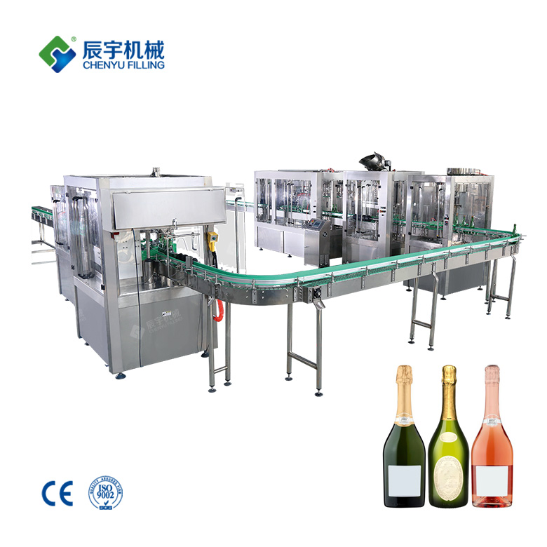 Sparkling Wine Filling Machine