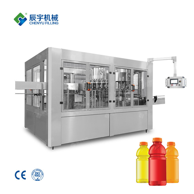 RCGF24-24-8 Sports Drink Production Line
